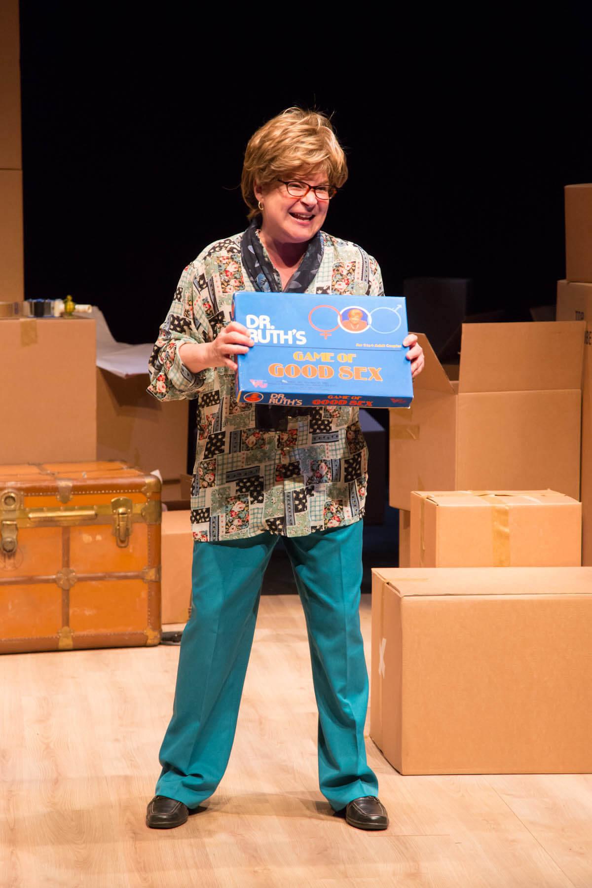 Linda Kash in Becoming Dr. Ruth( Photo: Joanna Akyol)