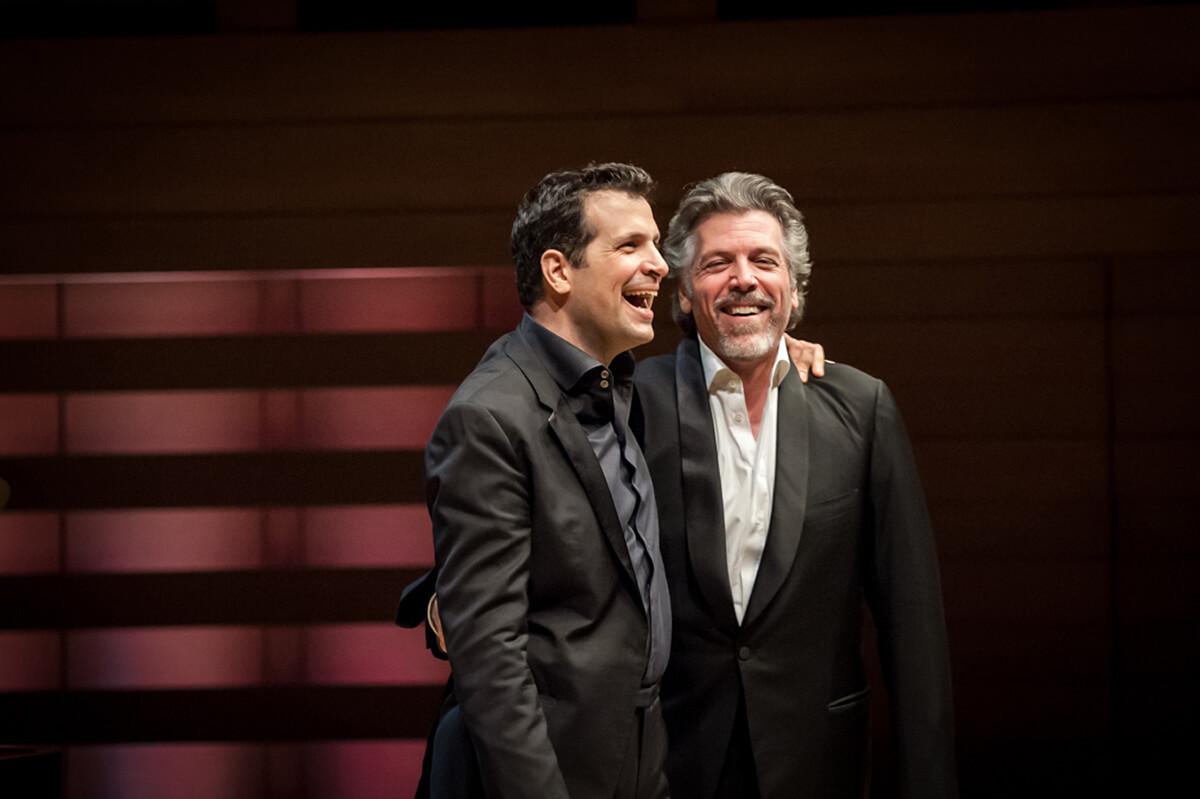 Luca Pisaroni & Thomas Hampson (Photo: Lisa Sakulensky)