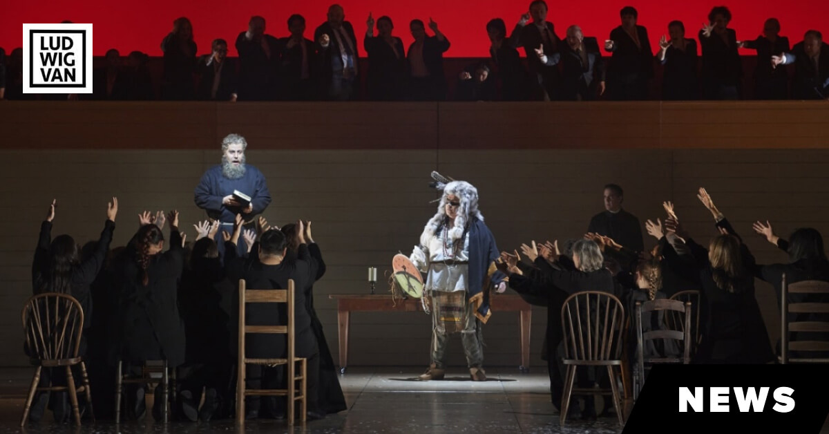 Canadian Opera Company's new production of Louis Riel, 2017.