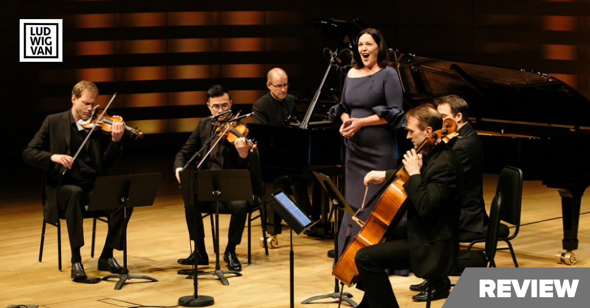 Adrianne Pieczonka, Steven Philcox and the New Orford String Quartet