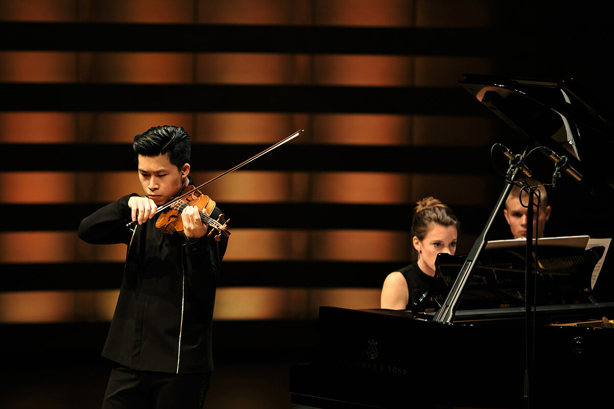 Kerson Leong (violin) and Rachael Kerr (piano)