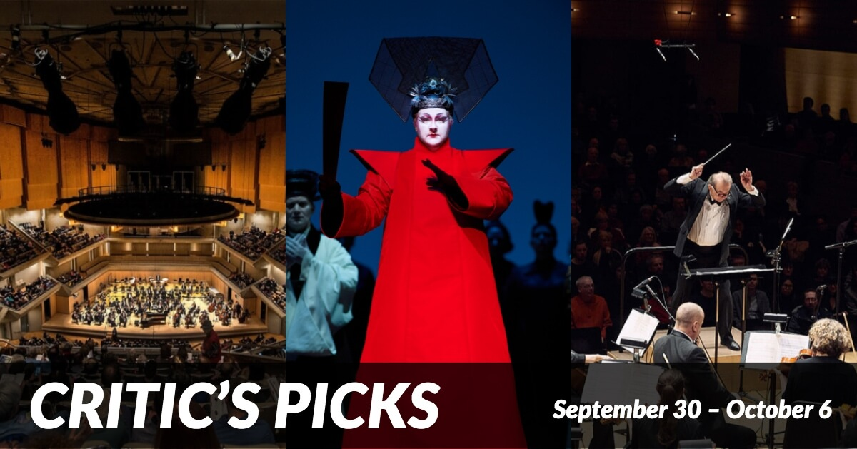 Critics Picks September 30 to October 6