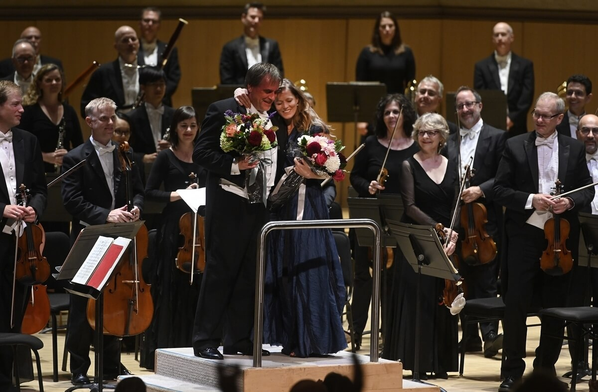 Accolades for the TSO with soloist John Storgårds and Barbara Hannigan at the 2019/20 season launch