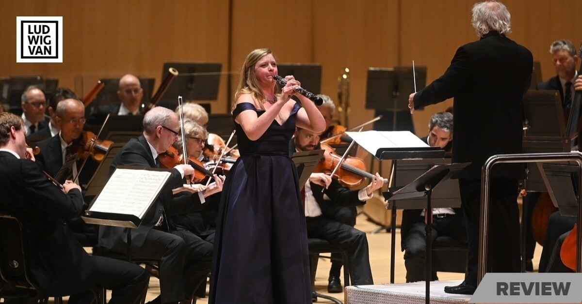 Soloist Sarah Jeffrey with the TSO under Donald Runnicle