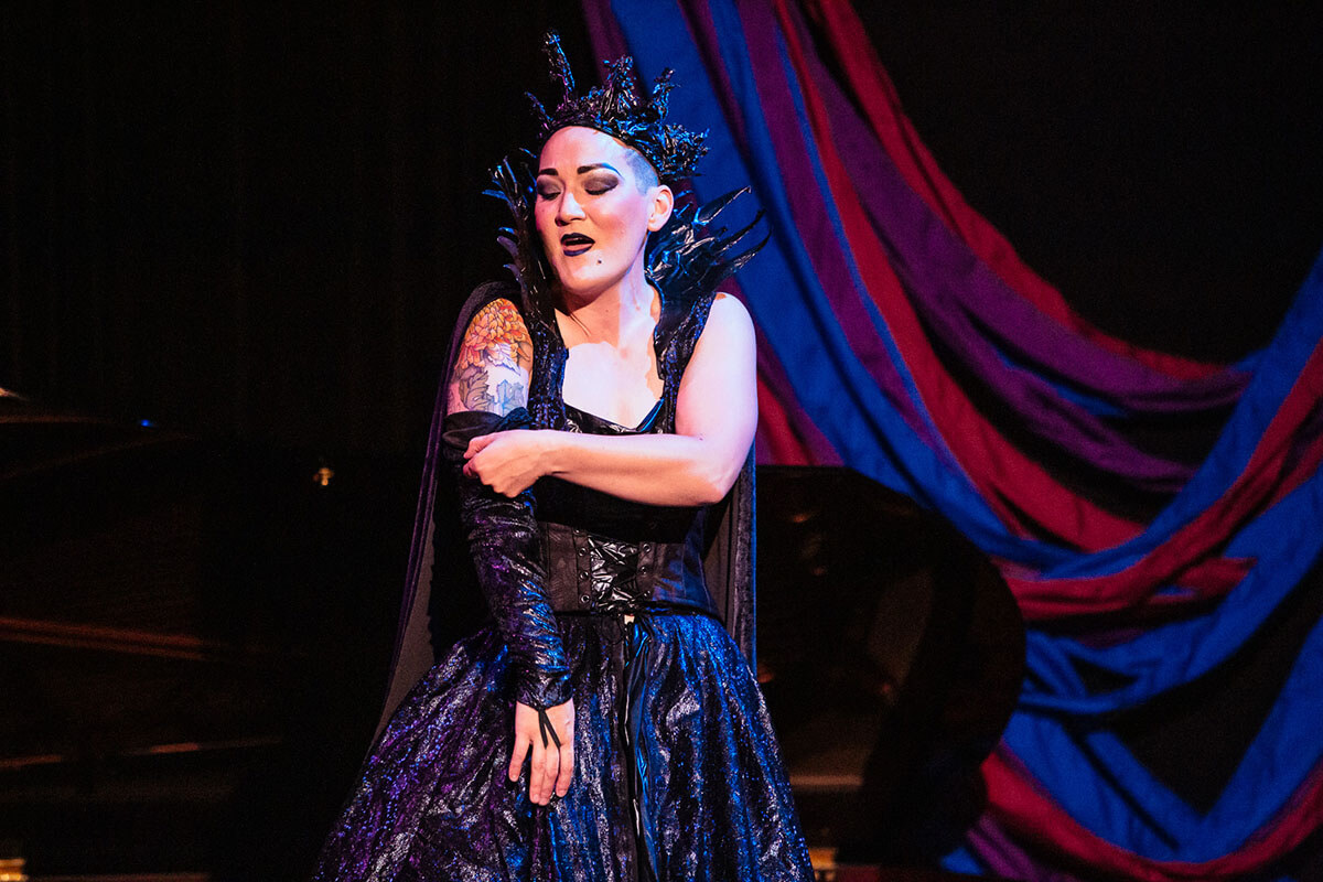 Teiya Kasahara in Amplified Opera's The Queen In Me