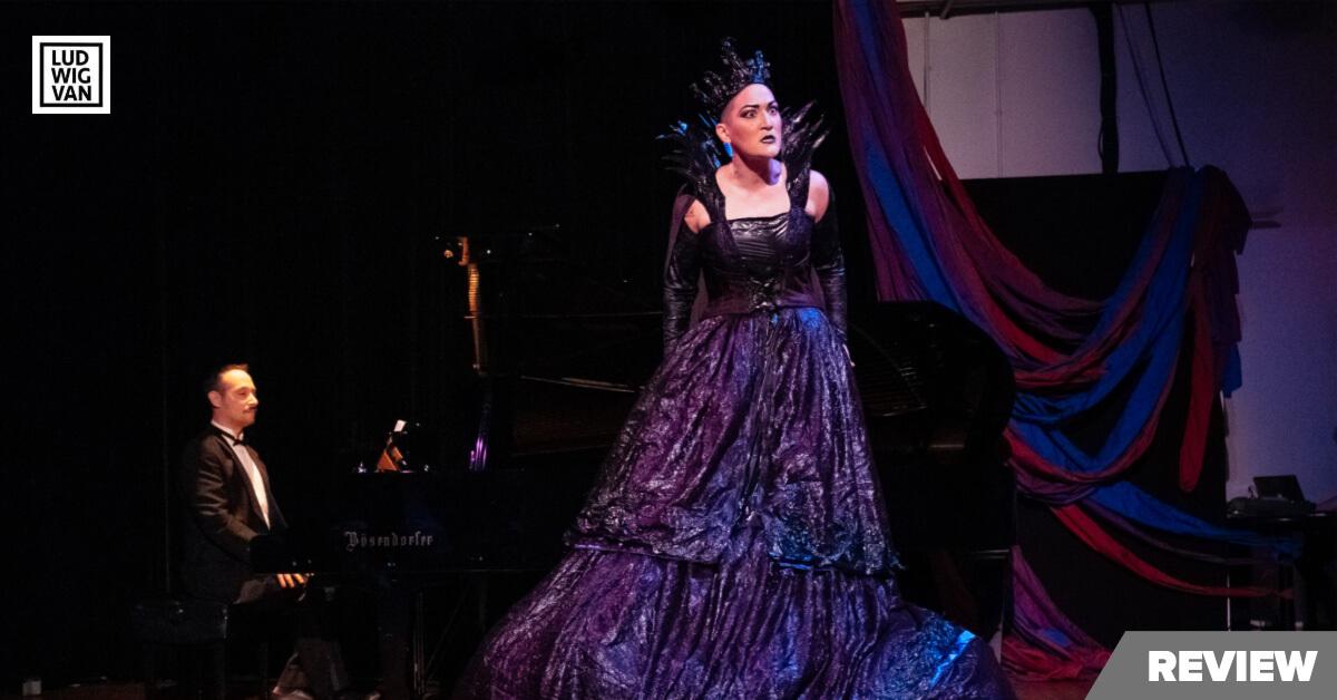 Teiya Kasahara in Amplified Opera's The Queen In Me