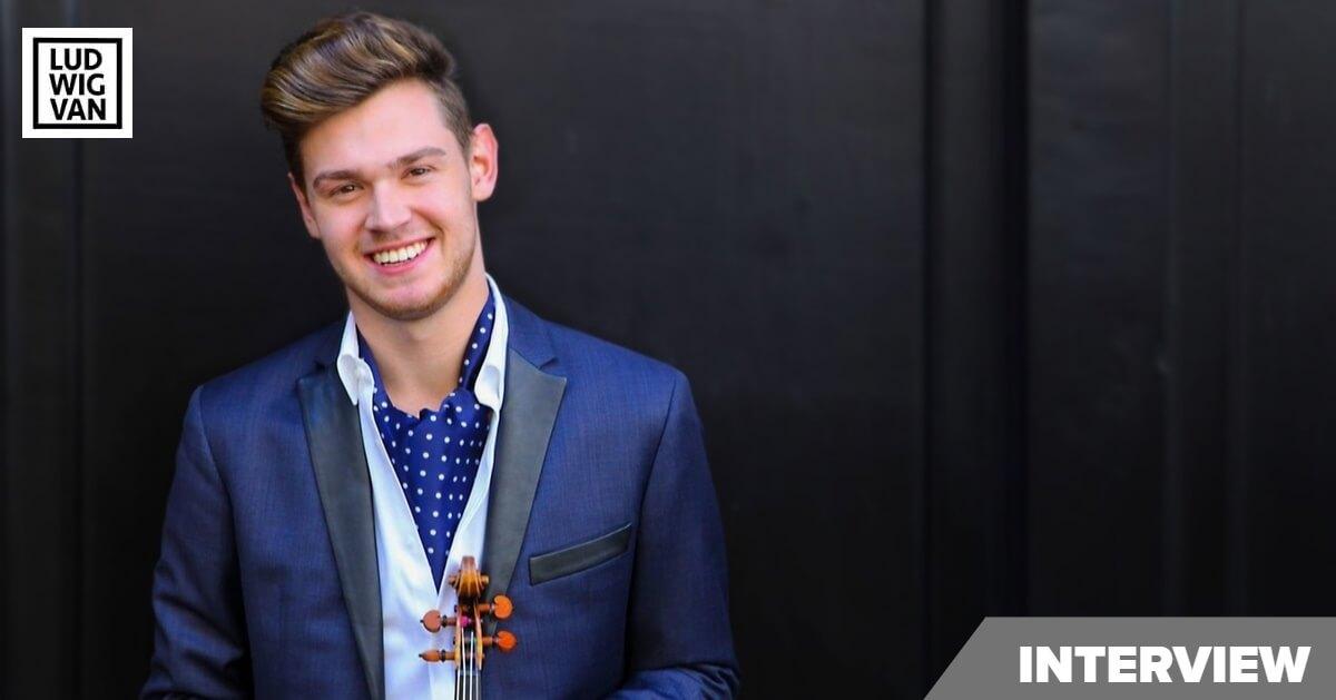 Violinist Blake Pouliot