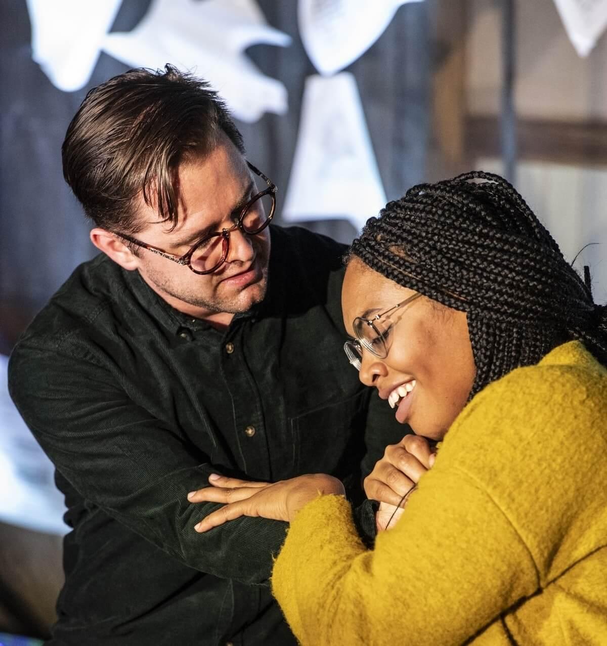 Marcel d'Entremont and Jonelle Sills in AtG 'La Bohème' on tour
