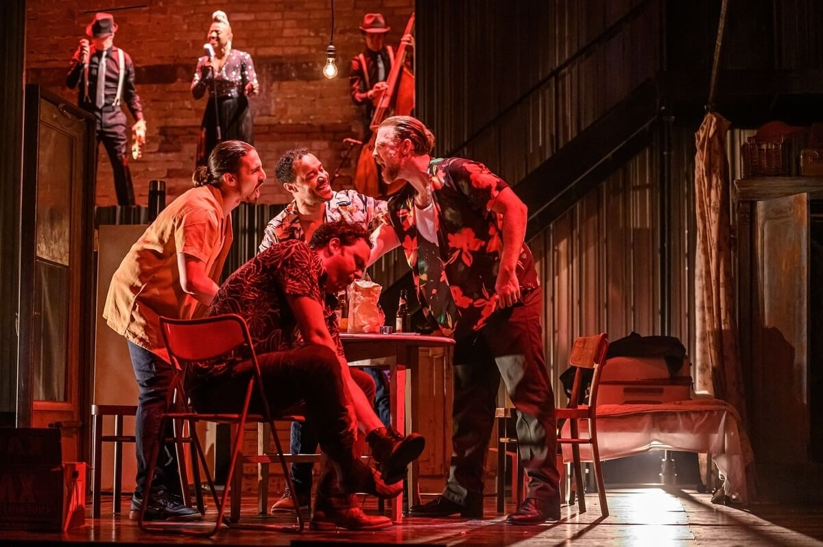 Ensemble in Soulpepper Theatre's 'A Streetcar Named Desire'