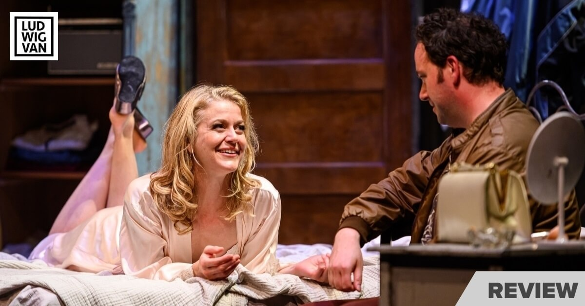 Amy Rutherford and Gregory Prest in Soulpepper Theatre's 'A Streetcar Named Desire'