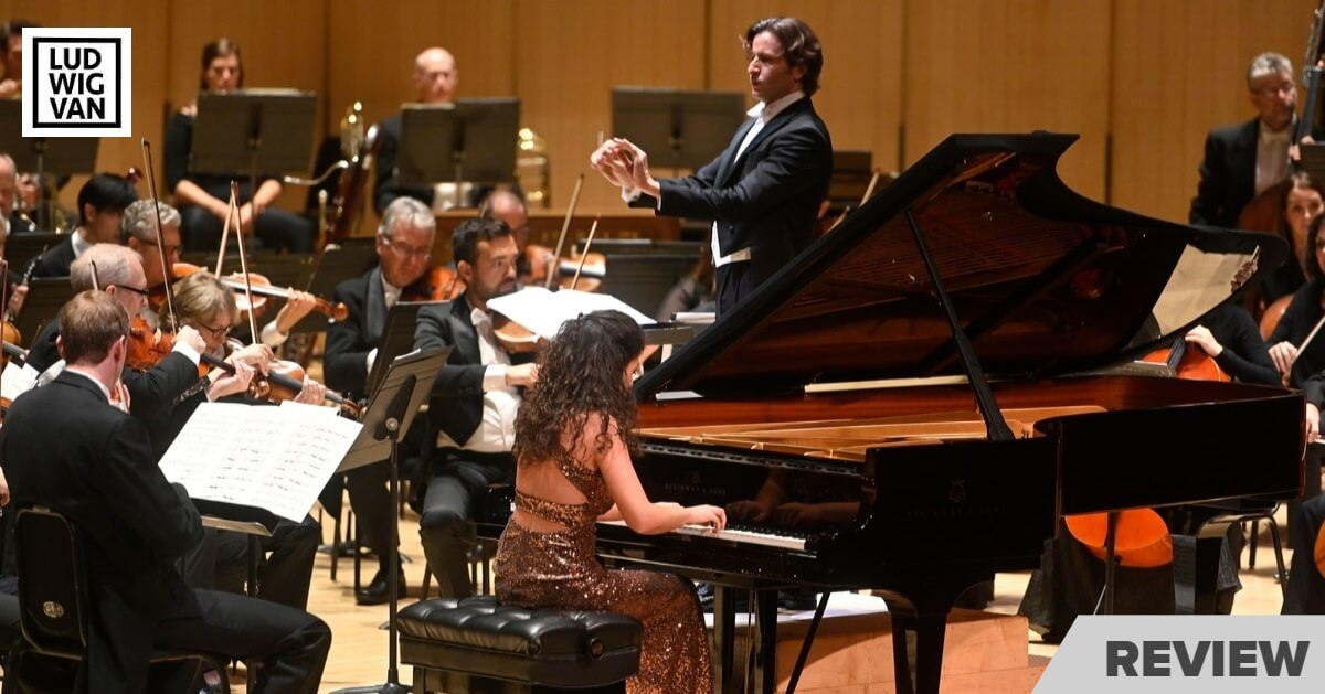 Gustavo Gimeno conducts the TSO as Beatrice Rana plays piano