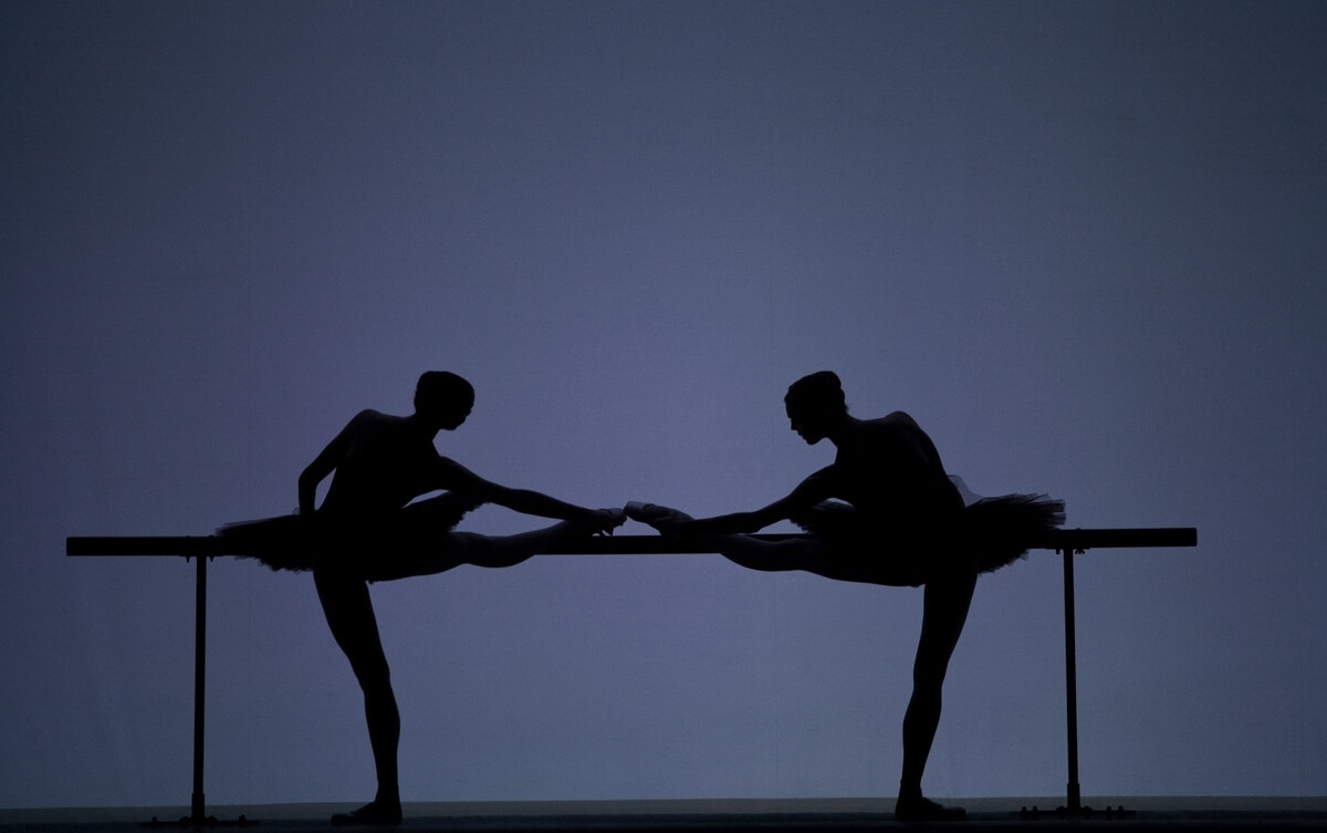 Artists of the Ballet in Etudes