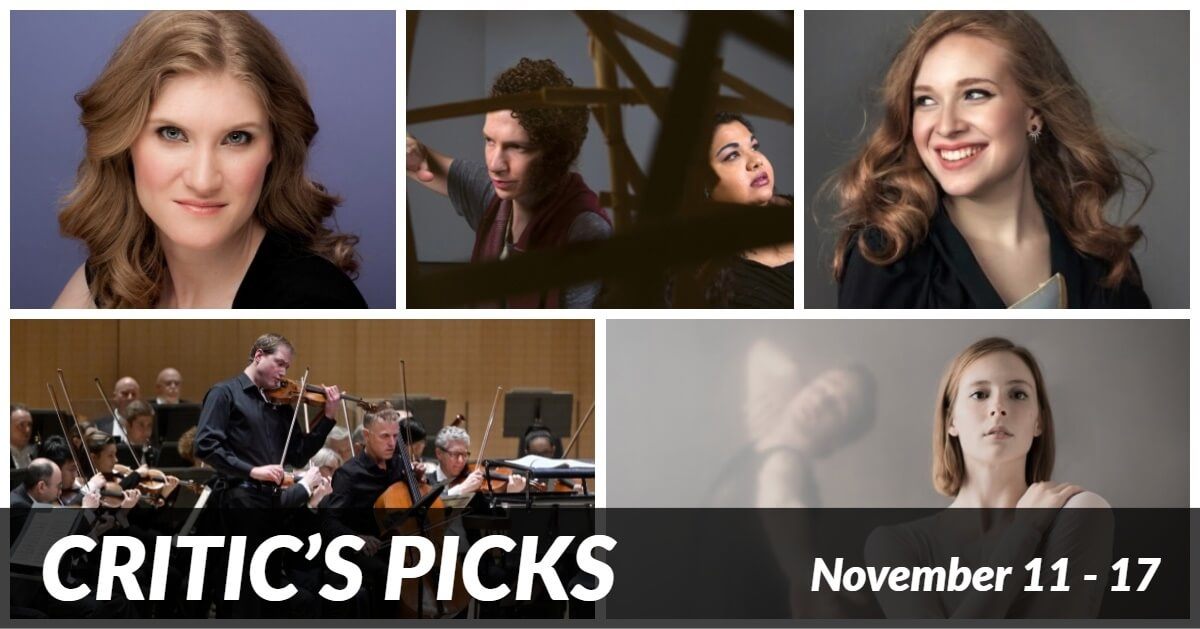 Classical music and opera events happening in and around Toronto for the week of Nov. 11 — 17.