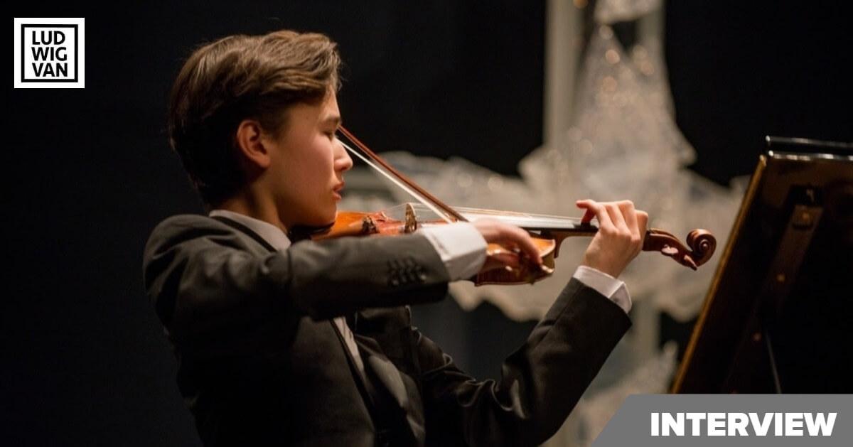Violinist Daniel Lozakovich