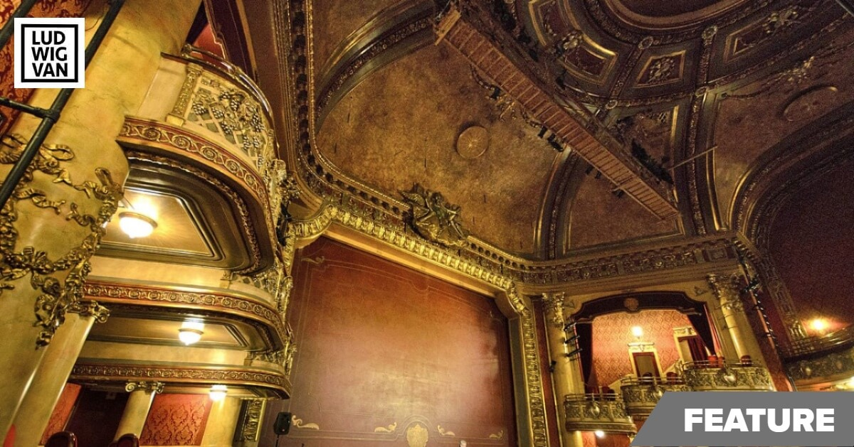 Elgin Theatre, interior