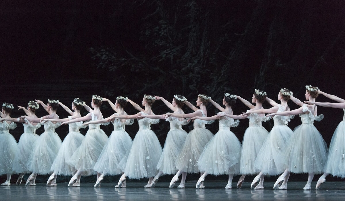 Artists of the Ballet in Giselle