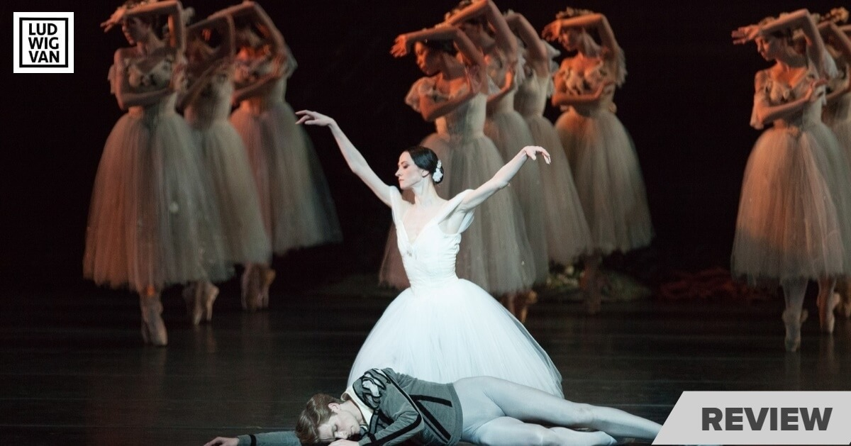 Svetlana Lunkina and Harrison James with Artists of the Ballet in Giselle