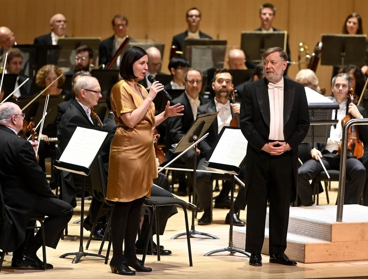 Sir Andrew Davis with the TSO