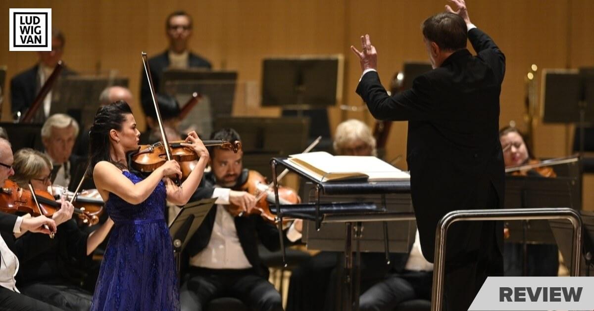 Sir Andrew Davis conducts the TSO with soloist Karen Gomyo