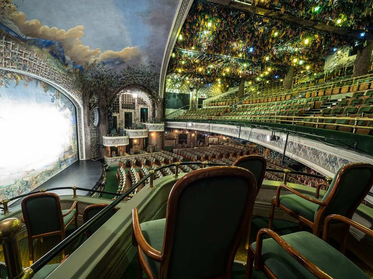 Winter Garden Theatre, interior