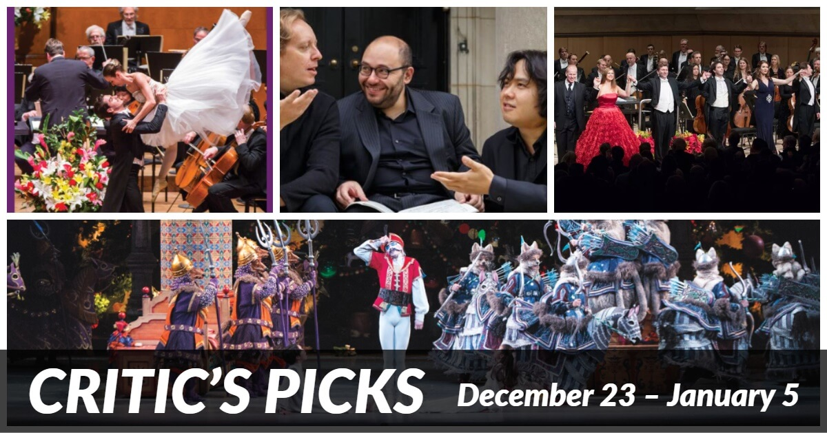 Classical music and opera events happening in and around Toronto from December 23 to January 5.