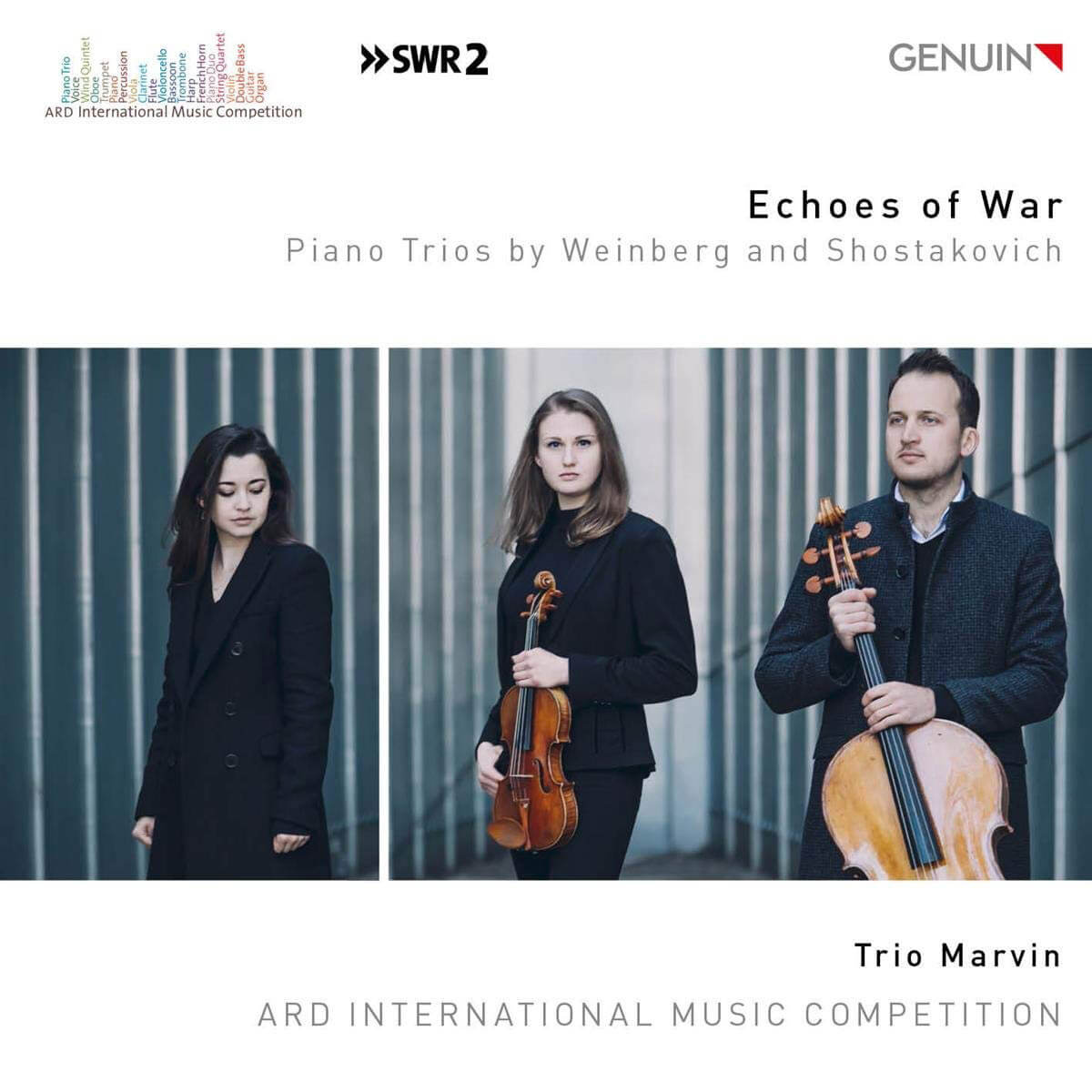 Echoes of War: Piano Trios by Weinberg and Shostakovich