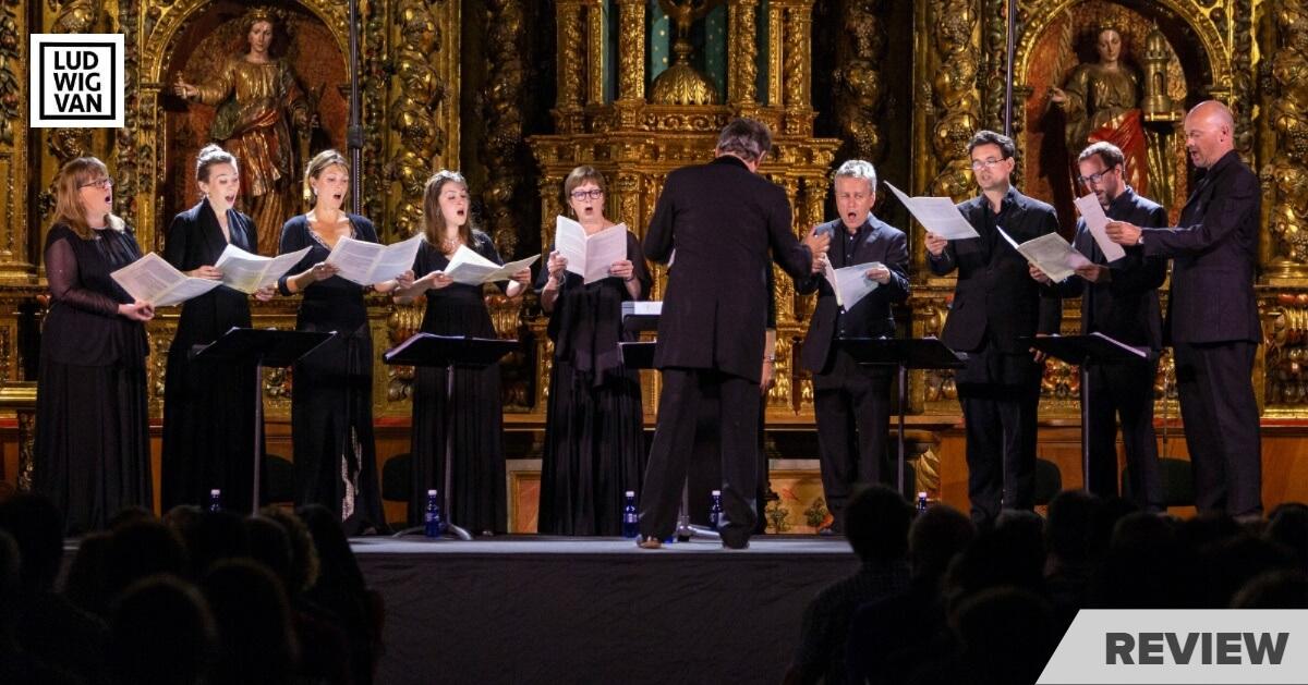 The Tallis Scholars in concert earlier in 2019