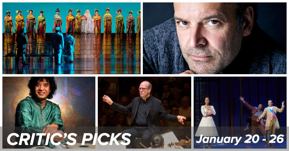 Classical music and opera events happening in and around Toronto for the week of January 20 – 26.