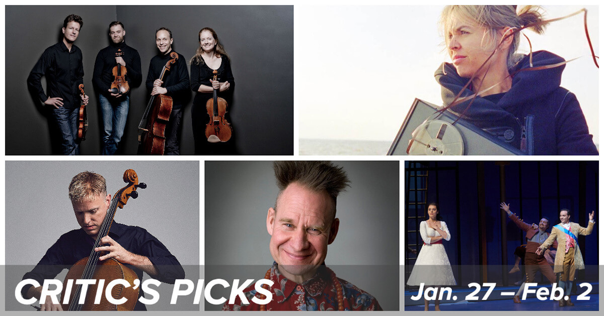 Classical music and opera events happening in and around Toronto for the week of January 27 to February 2.