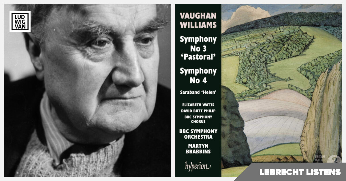 Ralph Vaughan Williams: Symphonies 3 and 4 (Hyperion)