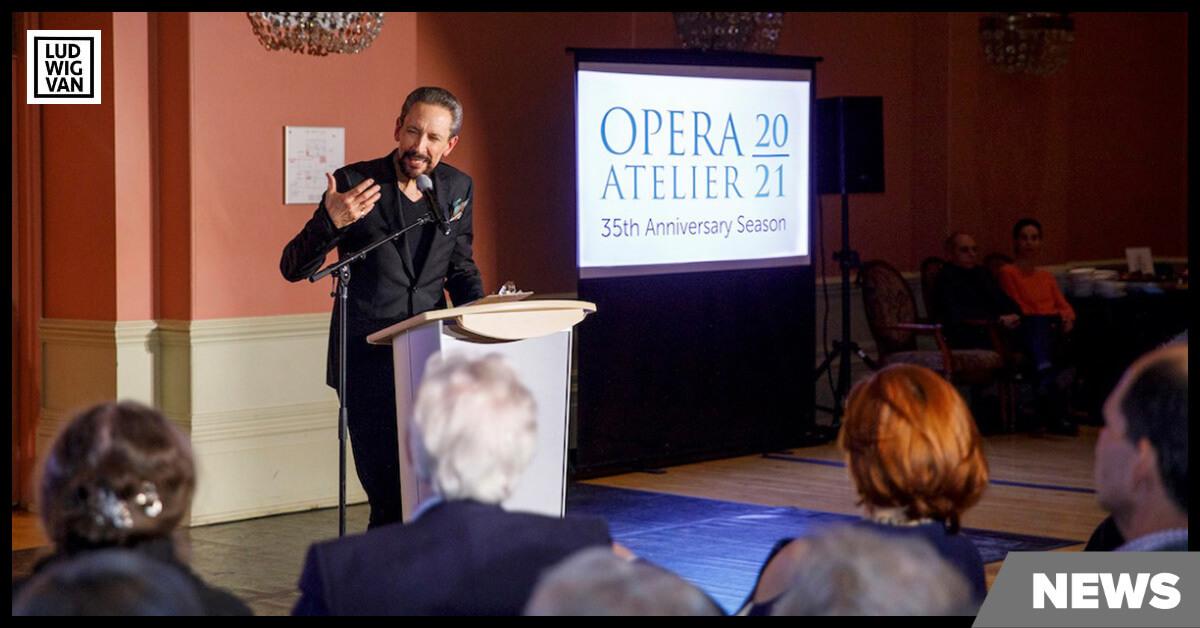 Opera Atelier Co-Artistic Director Marshall Pynkoski (Image courtesy of Opera Atelier)