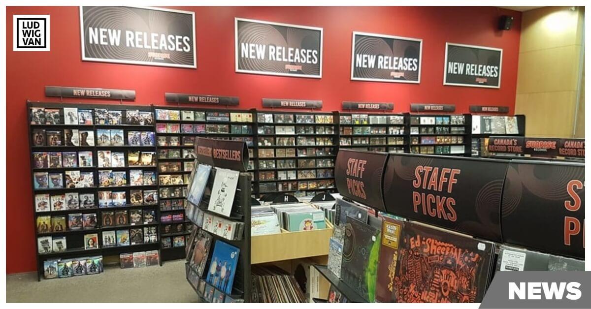 Sunrise Records (Photo courtesy of Sunrise Facebook page)