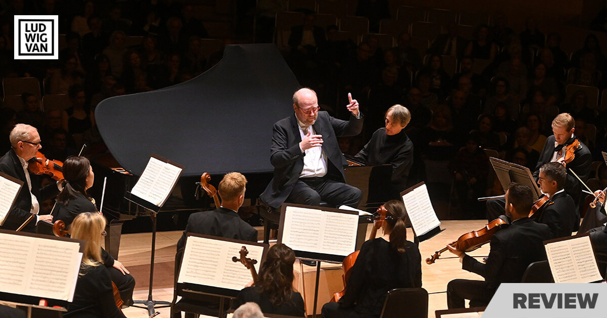 The Toronto Symphony with Bernard Labadie (conductor) and Jean-Efflam Bavouzet (piano).