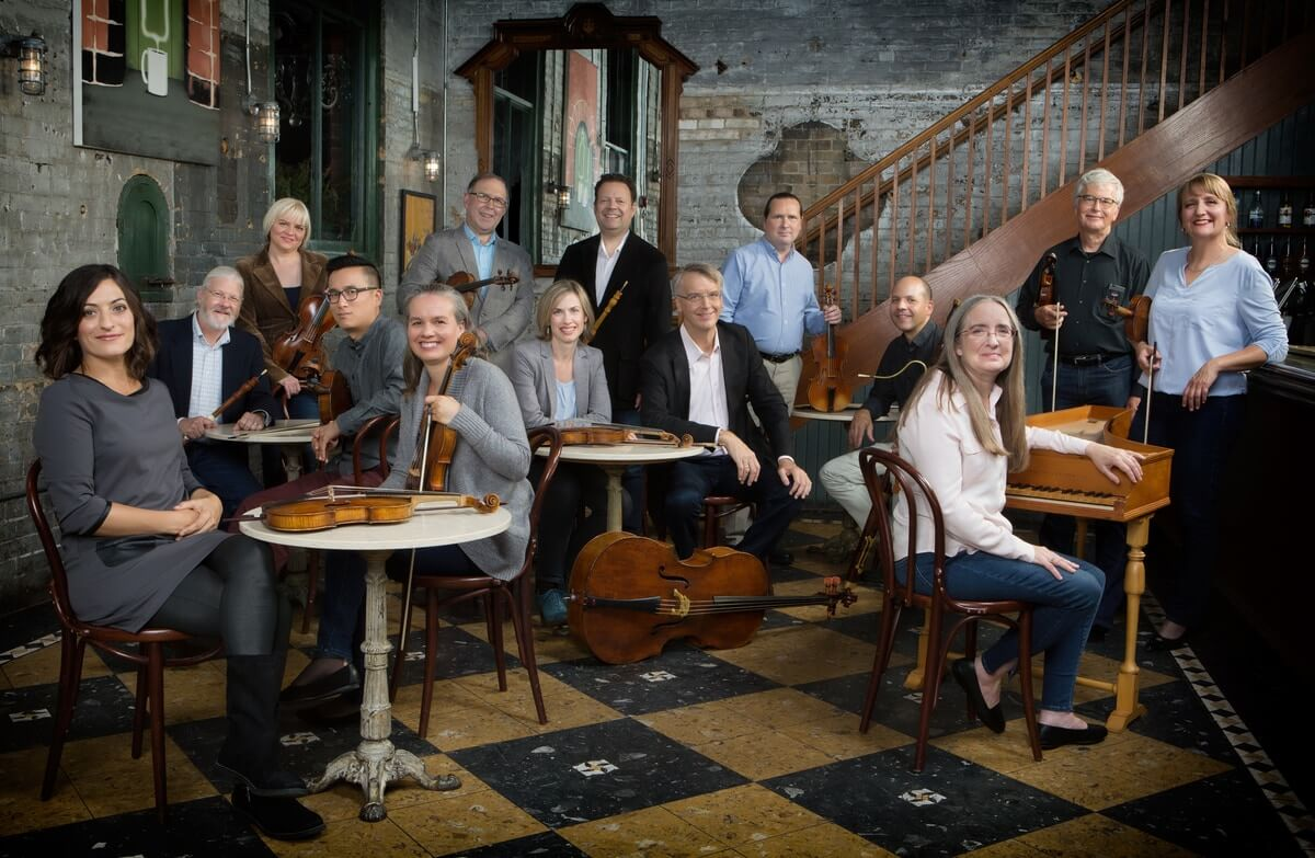 Tafelmusik Baroque Orchestra (Photo : Cylla von Tiedemann)