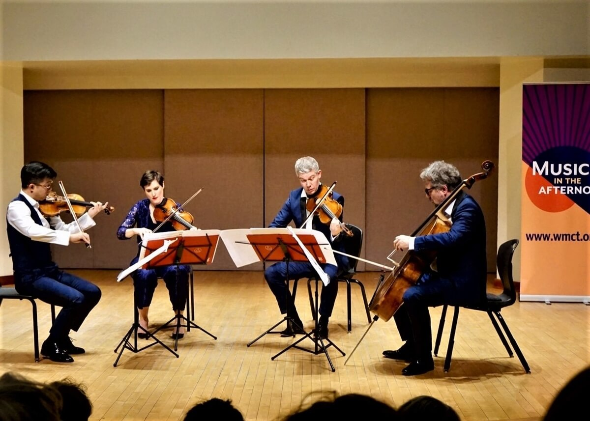 The Diotama Quartet (Photo : James Kippen)