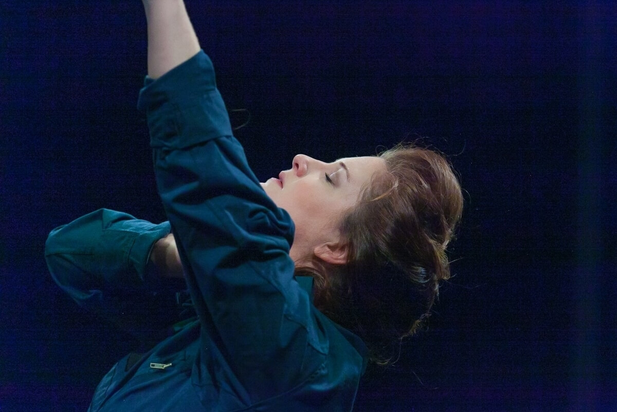 Carly Street in TheatreSix 'Grounded' (Photo : Ross Spencer Photography)