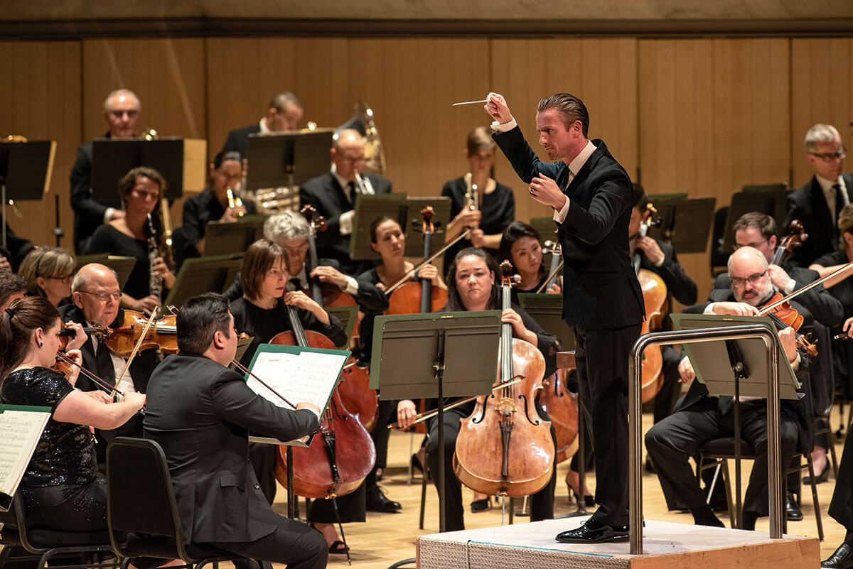 The National Arts Centre Orchestra at Roy Thomson Hall (Photo : Nick Wons)