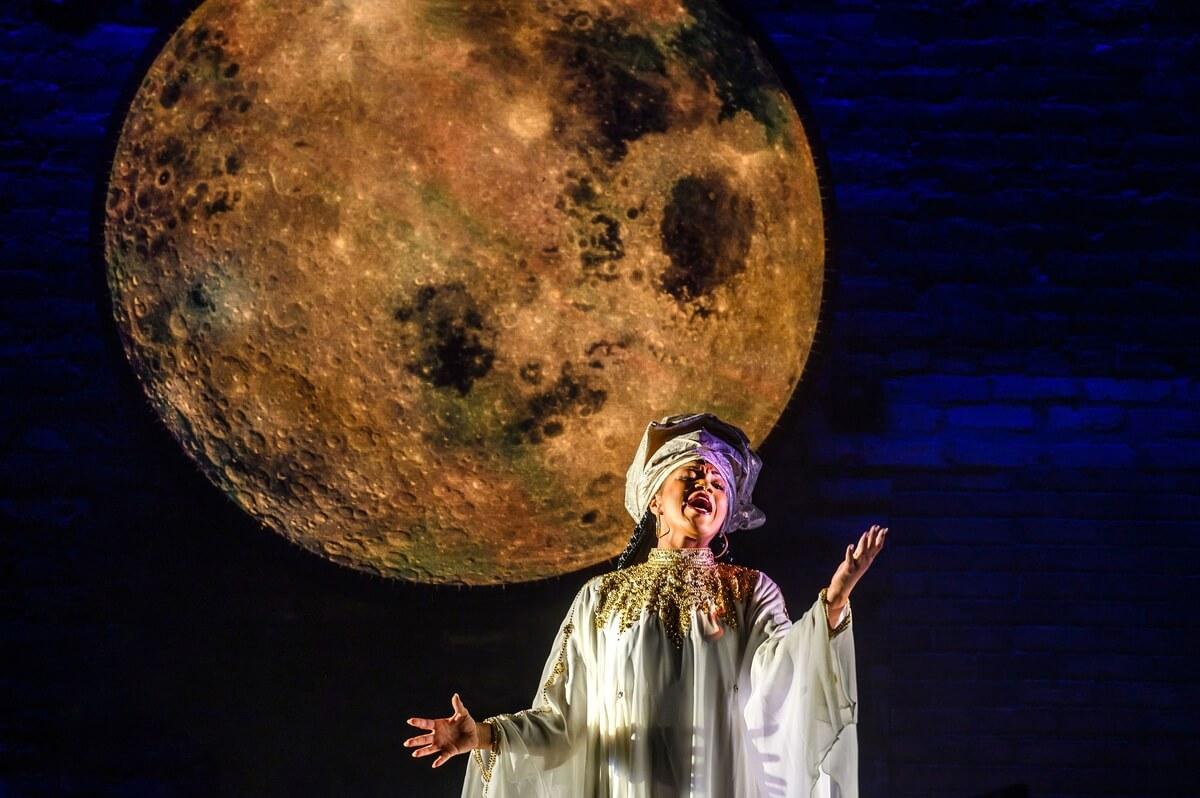 Measha Brueggergosman in 'Caroline, or Change' (Photo : Dahlia Katz)