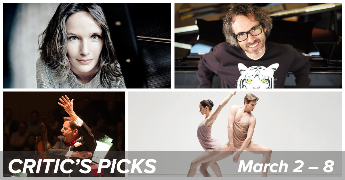 Classical music and opera events happening in and around Toronto for the week of March 2 to 8.