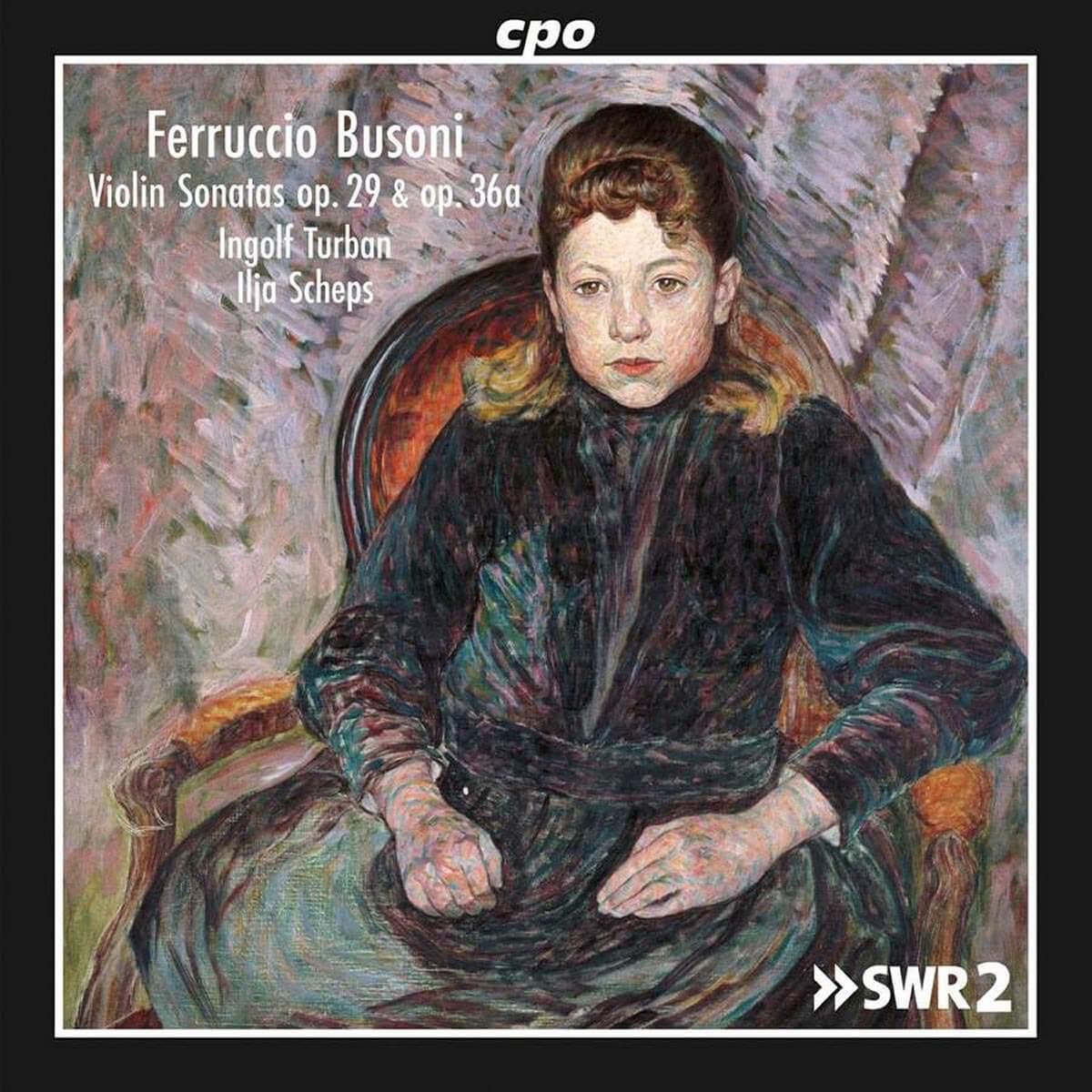 Ferruccio Busoni - violin sonatas