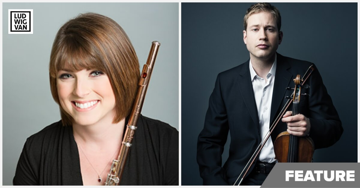 Kelly Zimba and Jonathan Crow (Photographs courtesy of the TSO)