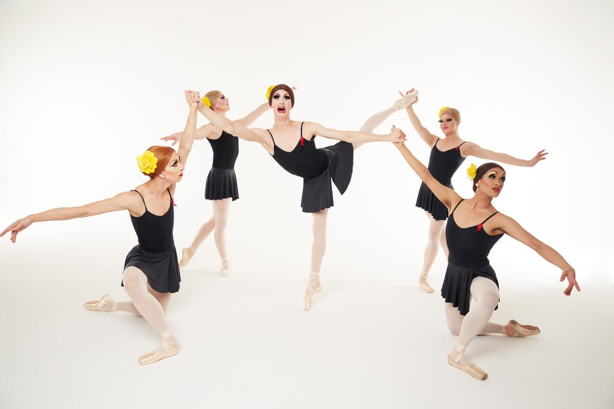 Les Ballets Trockadero de Monte Carlo (Photo: Zoran Jelenic)