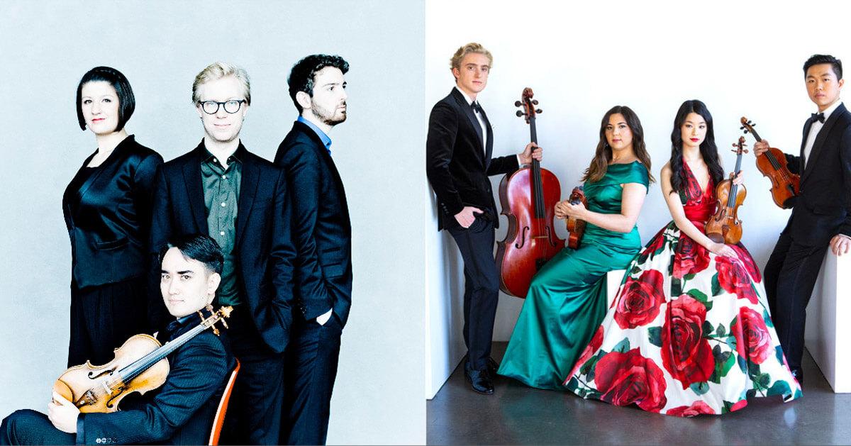 Marmen Quartet & Viano String Quartet