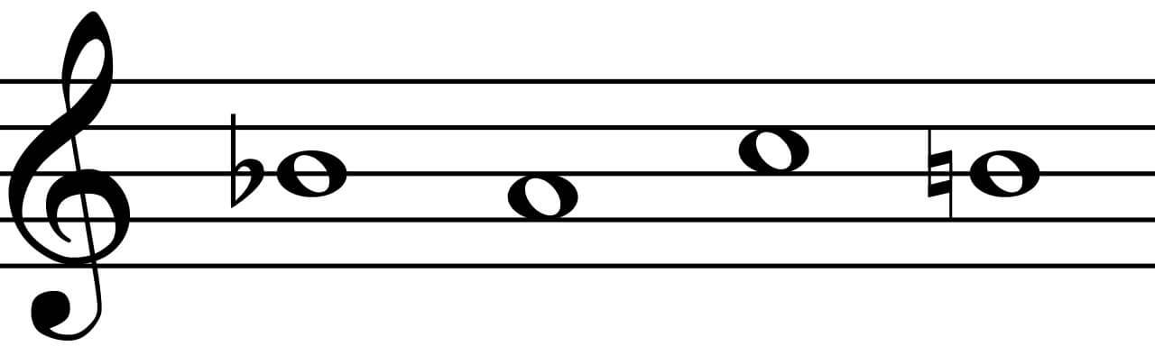 B-A-C-H motif