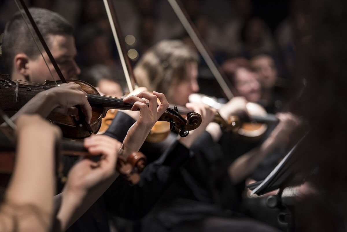 Orchestra (Image by Pexels from Pixabay)