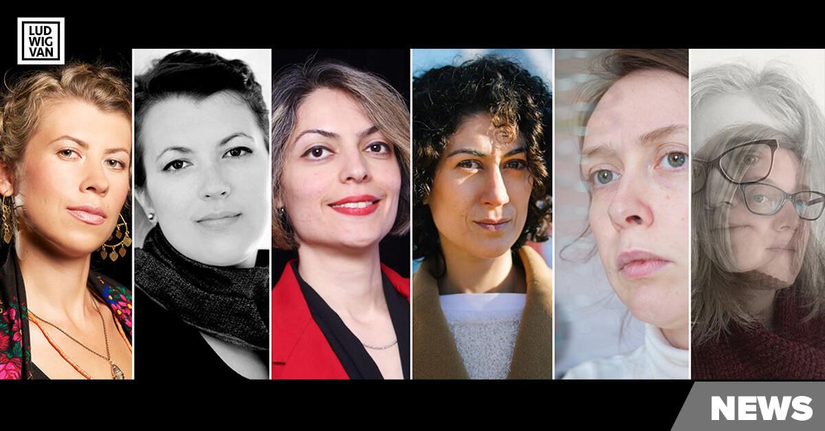 2020 Mécénat Musica Prix 3 Femmes Laureates