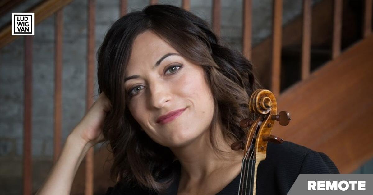 Elisa Citterio (Photo: Cylla von Tiedemann, courtesy of Tafelmusik)