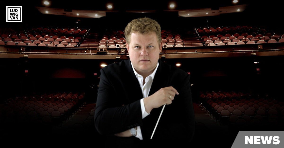 Rune Bergmann, Music director of the Calgary Philharmonic Orchestra (Image courtesy of the CPO)