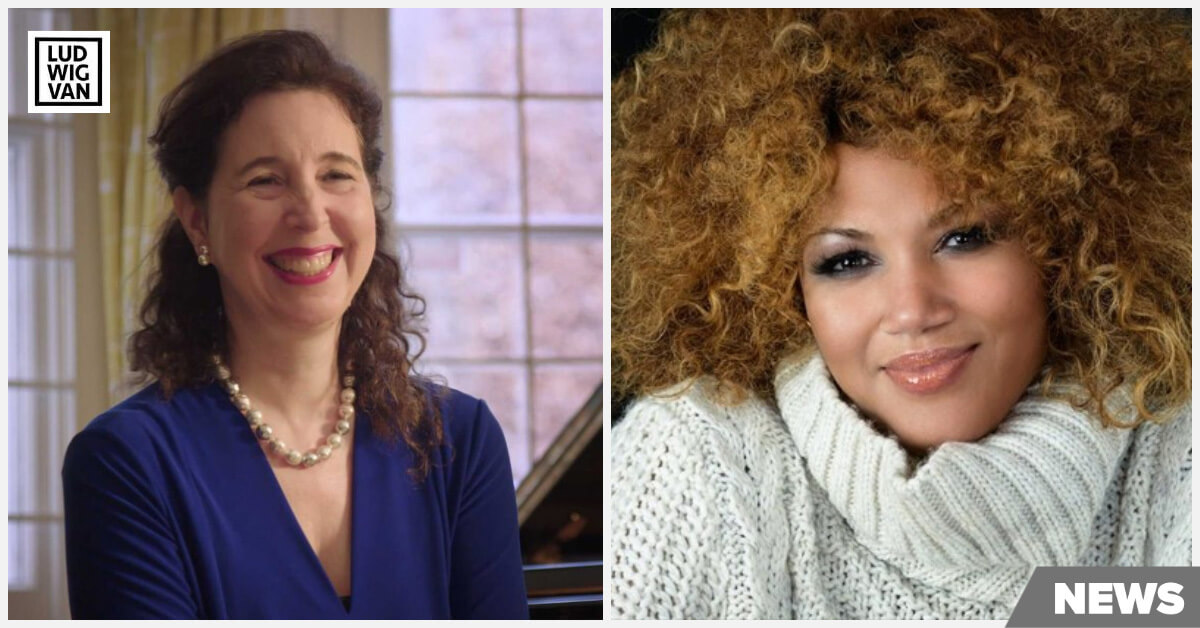 Angela Hewitt and Measha Bruegergossman