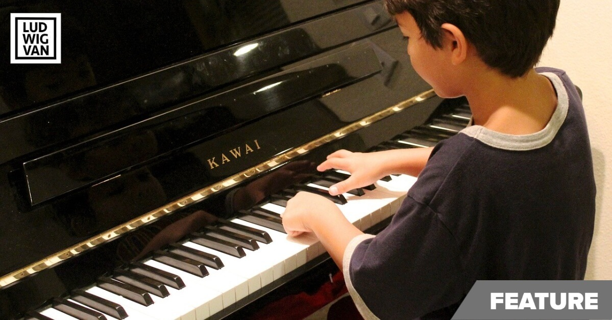Parents teaching piano feature